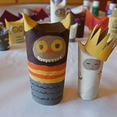 CALL OF THE WILD:Where the Wild Things Are toilet paper roll craft