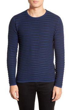 Zachary Prell 'St. Gallo' Ribbed Crewneck Sweater