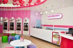 Wakaberry Trinity Yogurt Ice Cream, Frozen Yogurt, Shopping