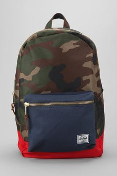 Herschel Supply Co. Camouflage Colorblock Settlement Backpack