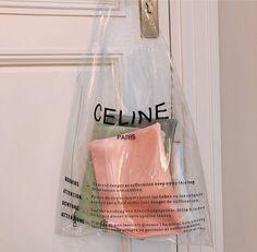 m File | Celine Clear bag