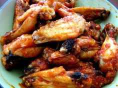 Spicy chicken wings Recipe.