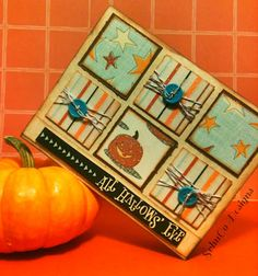 SCHUCO DESIGNS: Pumpkin Themed Halloween Cards