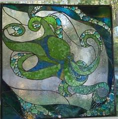 stained glass octopus - Yahoo Image Search results