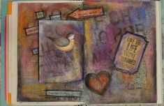 How to Art Journal Mixed Media - An Artist Cannot Fail  At 38:05 she states she uses Turtle Wax to protect her page.