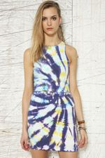 Evil Twin Ungrateful Tie-Dye Dress at Urban Outfitters. i want this.