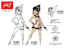 YUKI 7 AND THE GADGET GIRLS | Yuki 7 and the Gadget Girls
