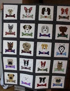Dogs and Bones Quilt | Craftsy