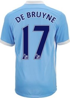 56d9aae6d 2015 16 Nike Manchester City Kevin de Bruyne Home Jersey. Get yours at  SoccerPro