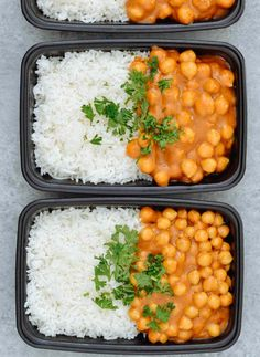Vegan Chickpea Curry & Basmati Rice is our fast, easy and healthy take on a very popular recipe, curry. Loaded with plant-based protein and fiber from chickpeas, a flavorful curry sauce that is made with only 5-ingredients and then served over soft and fluffy aromatic basmati rice. Vegan. Gluten Free.