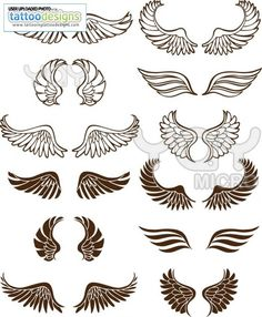 Angel wings tattoos | Tattoos I Want | Pinterest