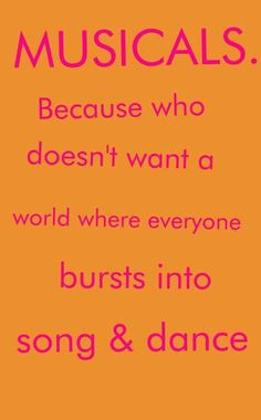 Sing & dance every day :-)
