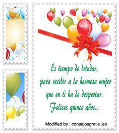 mensajes de texto cortos para quinceañeras, mensajes cortos para quinceañeras: http://www.consejosgratis.es/frases-cortas-para-quinceaneras/