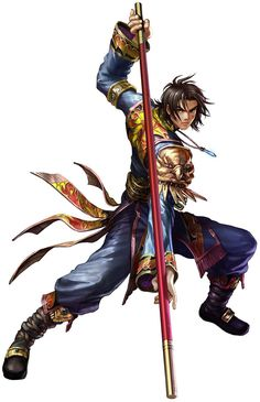 Soul Calibur IV: Kilik. They did a really great job separating Kiliks fighting style from Seong Mi-Na's in SCIII. And I love how his character progressed through the series.