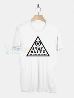 Twenty One Pilots Stay Alive Unisex Adult T Shirt - Get 10% Off!!! - Use Coupon Code 'TEES10'