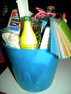 Three Pixie Lane: Science experiment basket