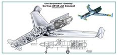 Image result for xf-55 curtiss