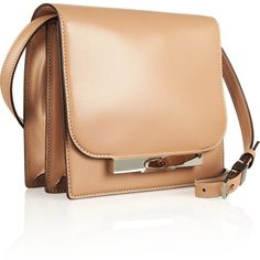 The Row Soft Classic leather shoulder bag ($2,800) found on Polyvore