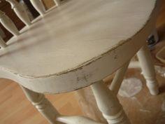vintage koptatott koptatás bútor festés bútor felújítás bútor átalakítás festés csiszolás szék csiszolópapír mestertapasz bútor zománcfesték lakk tapadó alapozó alapozó kopott shabby chic antik antikolt antikolás