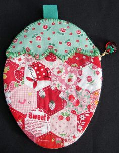 Strawberry Pouch Front | by elnorac