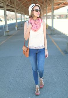 Casual spring outfit #targetstyle