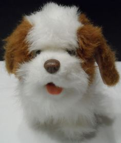 $19.98/ Plush FurReal Friends  Puppy Dog Stuffed Animal Barks, Whimpers, walks--by  Hasbro kids youth children toy ~~view more plush toys for youth/kids/children as well as over 20 categories of merchandise in my store SHIPPING is ALWAYS FREE in the USA; I ship globally!  www.shellyssweetfinds.com