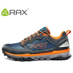 the best attitude 4e6df 53591 Rax Men Hiking Shoes Genuine Leather Hiking Shoes For Men Autumn And Winter  Cushioning Outdoor Walking