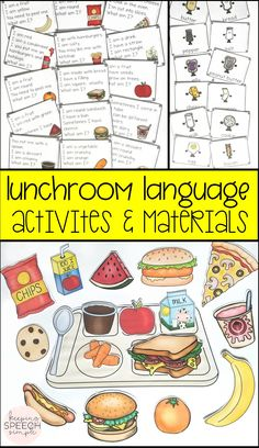 Get students engaged in learning with these effective hands on activities that develop important language skills. Students will practice speaking and listening with barrier games.  They will develop problem solving skills with inference task cards. Use with preschool, kindergarten and early elementary students.