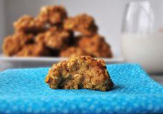 pumpkin cookies blur