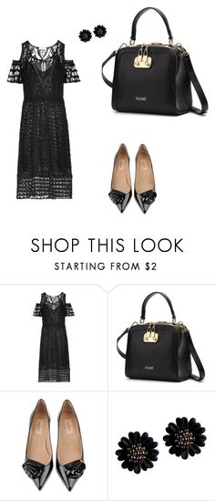 """""""Funeral outfit 😢"""" by mrsagosto ❤ liked on Polyvore featuring See by Chloé and Valentino"""