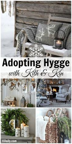 How to Adopt Nordic Hygge and Cozy Up Your Home - 31 Daily Easy Home Decor, Home Decor Bedroom, Bedroom Apartment, Bedroom Wall, Cottage Shabby Chic, Cottage Style, Hygge Christmas, European Home Decor, Konmari
