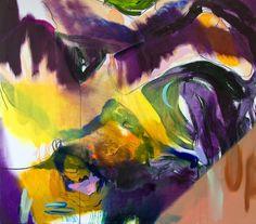 When The Sun Breaks oil and acrylic on canvas by Winston Chmielinski