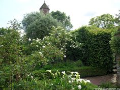 Sissinghurst Castle Garden   Ландшафтный дизайн садов и парков
