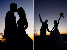 Silhouettes are a fav pose of mine