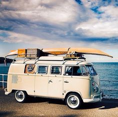 #vw bus at the beach... | re-pinned by http://about.me/southfloridah2o