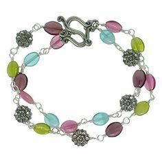 Spring Flowers Bracelet | Fusion Beads Inspiration Gallery  #inspirationinbloom