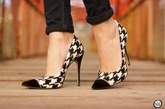 FashionCoolture - 06/27/2015 look du jour Chicwish pied de poule plaid black and white prints (5)