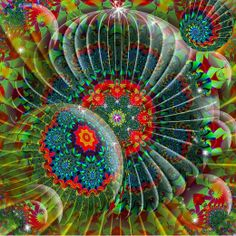 Arthouse: 35 Beautiful Examples of Fractal Flowers - Noupe Design Blog
