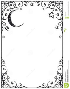 200+ Wiccan Blank Pages & Dividers for My BOS ideas