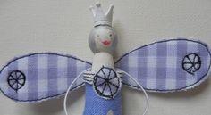 Peg Doll-Purple £7.00