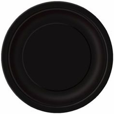 "Pack of 20 x BLACK Round Paper Plates (7""/18cm) | Amazon.co.uk, £1.49"