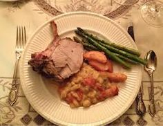 christmas meal plate - Google Search