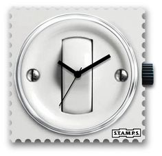 STAMPS TIME TO CHANGE Clock, Stamps, Wall, Outlet, Change, Watches, Home Decor, Italia, Watch