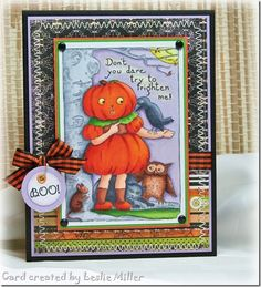 Pumpkin Girl Oct 2013 by Running With Scissors