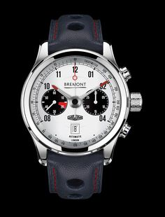 cc602b51e1a The Bremont x Jaguar MKII Watch Is a Tribute to E-Type Racing Cars and the  Golden Age of Motoring. A racing-inspired timepiece every Jaguar enthusiast  ...