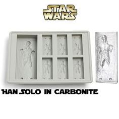 I found 'Star Wars Han Solo Ice Cube Tray' on Wish, check it out! Star Wars Birthday, Star Wars Party, Han Solo Frozen, Party Favors For Adults, Man Cave Room, Star Wars Christmas, Star Wars Wedding, Star Wars Han Solo, Ice Cube Trays