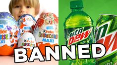 10 Banned Foods - YouTube