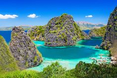 Because these are shades of blue and green that don't even exist in the rest of the world. | 19 Reasons The Philippines Should Be The Next Country You Visit