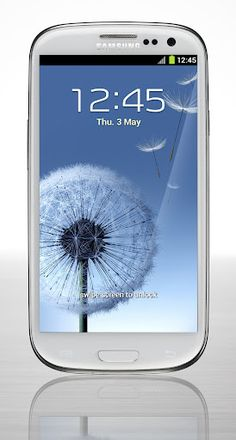 Samsung Galaxy S III Yep, gorgeous...definitely competition for iPhone. in fact, Samsung recently was outselling iPhone.