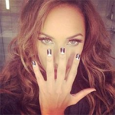 Awards Season Nails 2014 Leona Lewis www.nailsmag.com